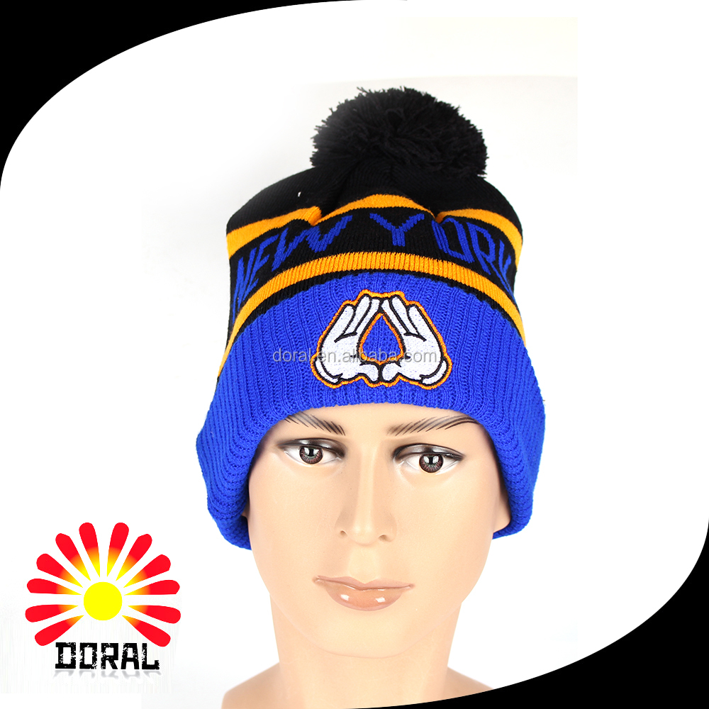 2-017 Cheap Wholesale 100% Acrylic Custom Cc Beanie Hat