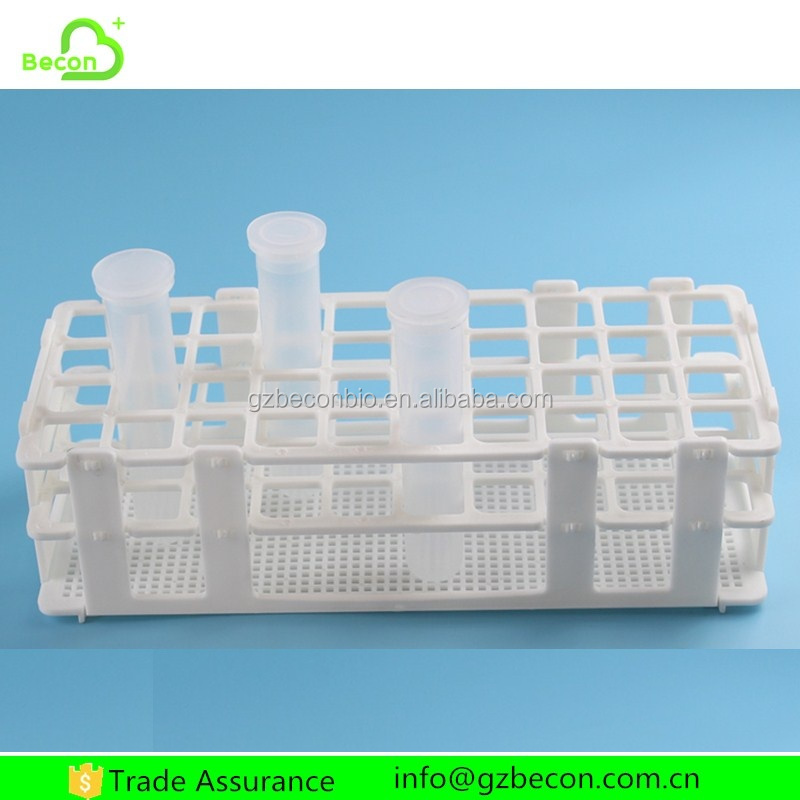 Customized Laboratory Plastic Test Tube Stands Holder