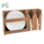 bamboo Display Rack Dish and cup holder for dining ware handy