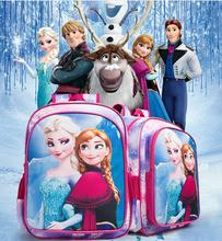 "Frozen 16"" Large Backpack Elsa Frozen School Bag"