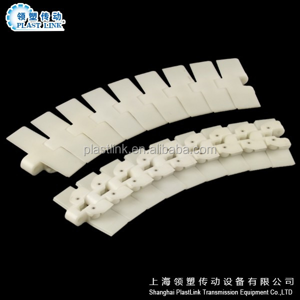 Plast Link RT114 Food grade material Multiplex Chain for beverage line