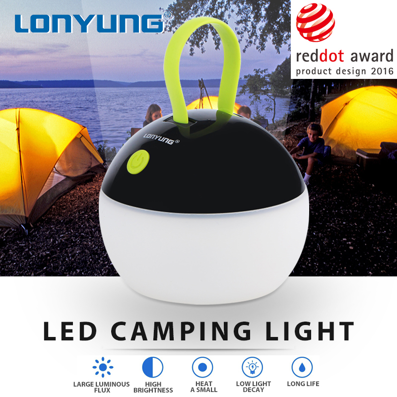 Germany reddot award product design camping strip led light