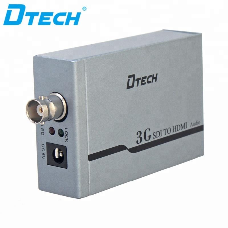 DTECH 同期伝送 HD SDI HDMI ビデオコンバータ (シングル SDI)
