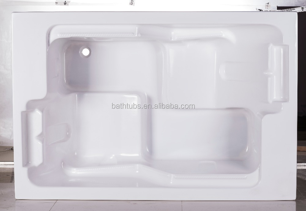 Cupc Certified Recessed Bathtub With Seat,2 Person Indoor Hot Tub ...