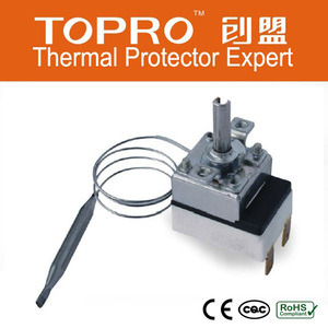 High Quality Air Conditioner Thermostat, Control Thermostat CE F2000 Thermostat Capillary