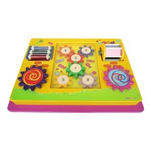 I DEPOT PLAY MULTI ACTION PANEL- WALL ACTIVITY PANEL FOR TODDLERS IM14