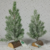 Rect Wooden Base Decoration PE Artificial Christmas Tree