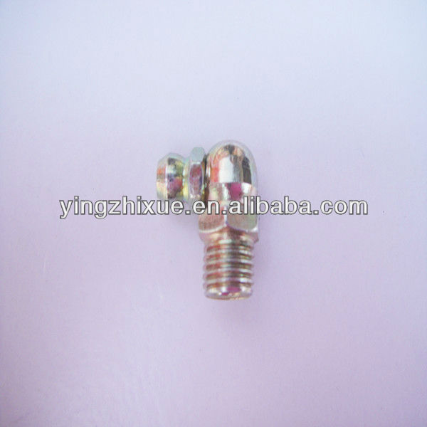 Grease gun head pipe fitting tools M8x1-90 degree