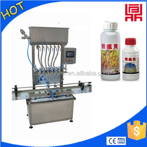 big bottle filling iodine filler machine with semi automatic