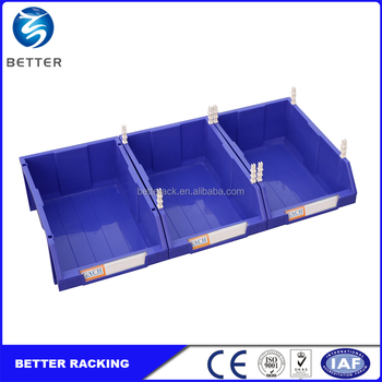 Stackable style various sizes plastic storage bin for warehouse rack  sc 1 st  Alibaba & Stackable Style Various Sizes Plastic Storage Bin For Warehouse Rack ...