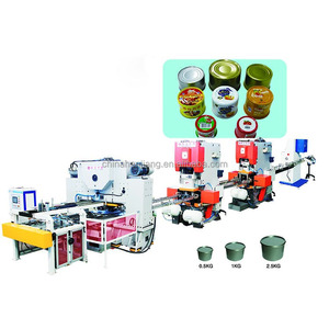Automatic metal two piece fish can machine/can making production line