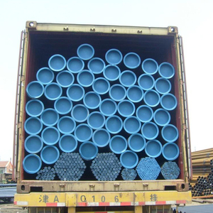API 5L Gr.B smls SCH80 steel pipe exporting to middle east area