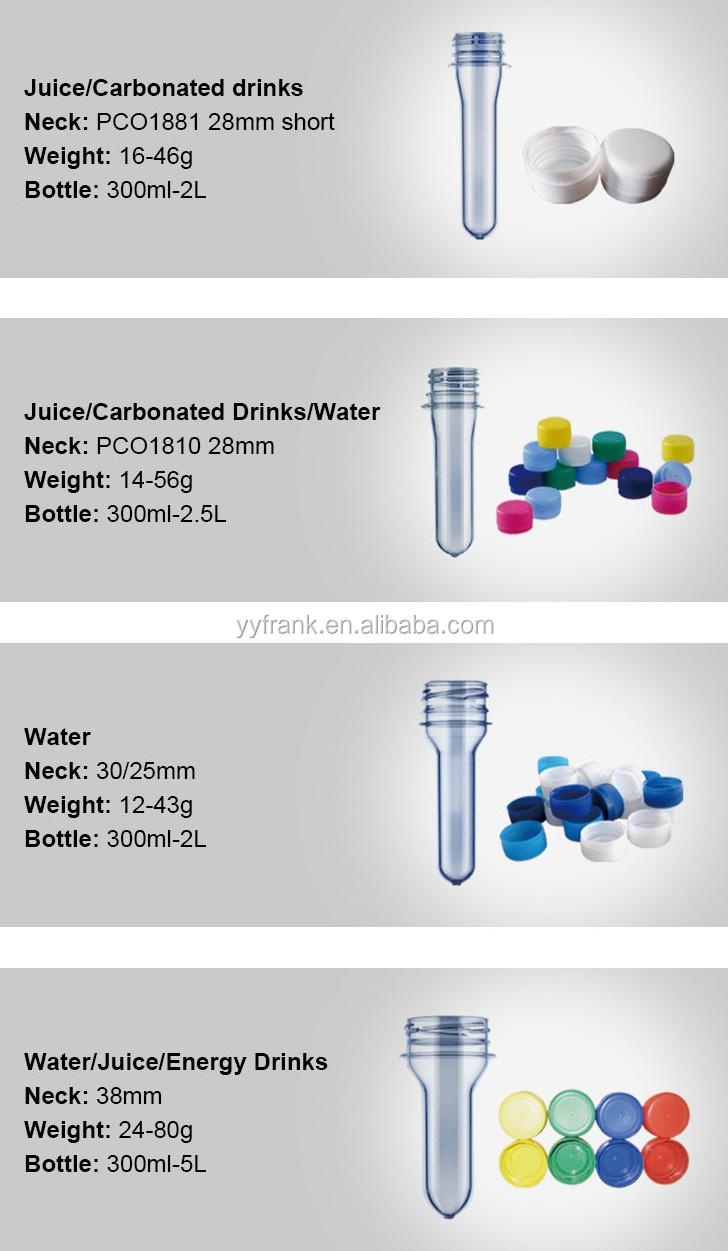 Recycle Pet Preform For Water Bottle Buy Recycle Pet Preform Pet Preform 30 25 Recycle Pet Preform 28mm Product On Alibaba Com
