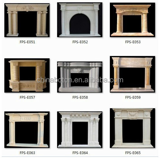 European Royal Electric Fireplace With Floral Design Decorative