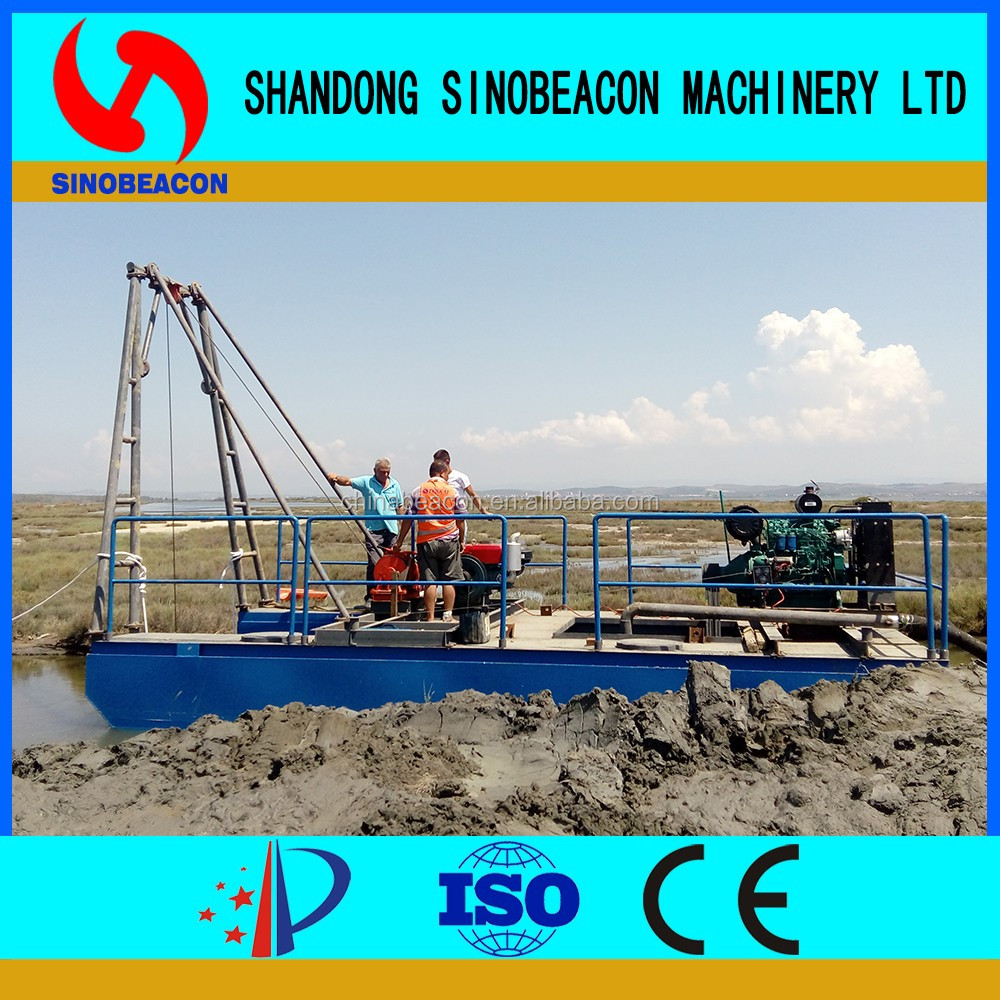 6/4 Inches High Quality Low Price Used Sand Dredging Machine