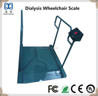Dialysis Wheel Chair Medical Balance Scale digital hospital weighing scale