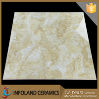 China Infoland Synthetic Yellow Cream Beige Tile Marble Cheap