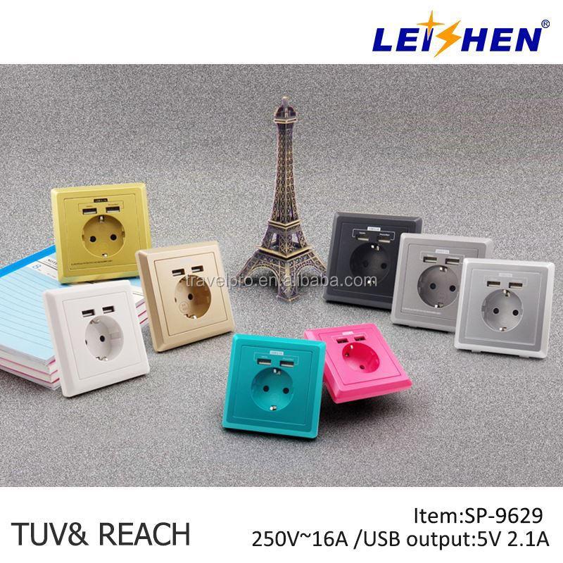 Leishen Brand Electrical Sockets Spain