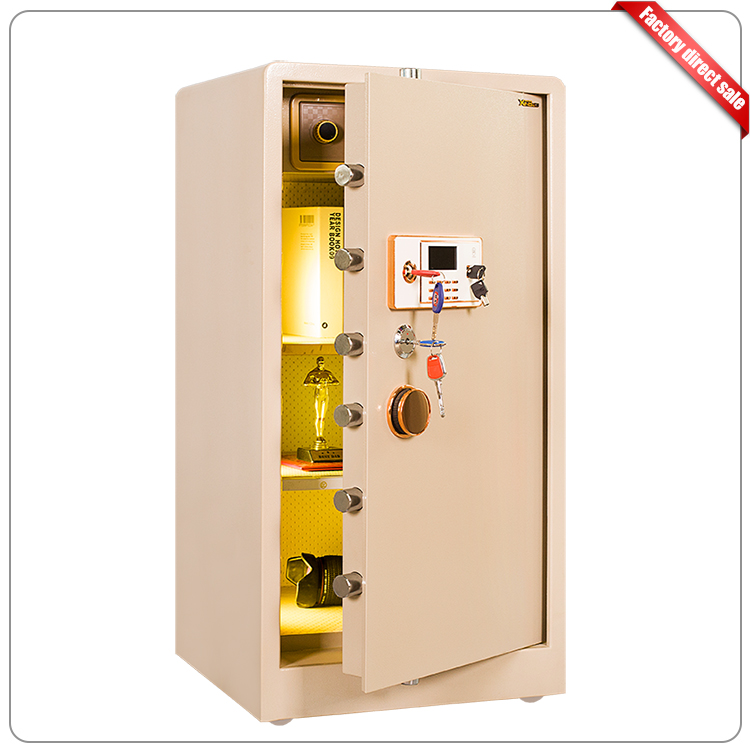 Mechanical dial wall safe box electronic personal laptop safe box
