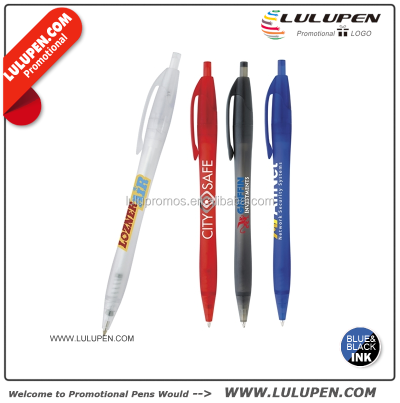 Frosted Dart Click Pen Customised pens (Lu-8214)