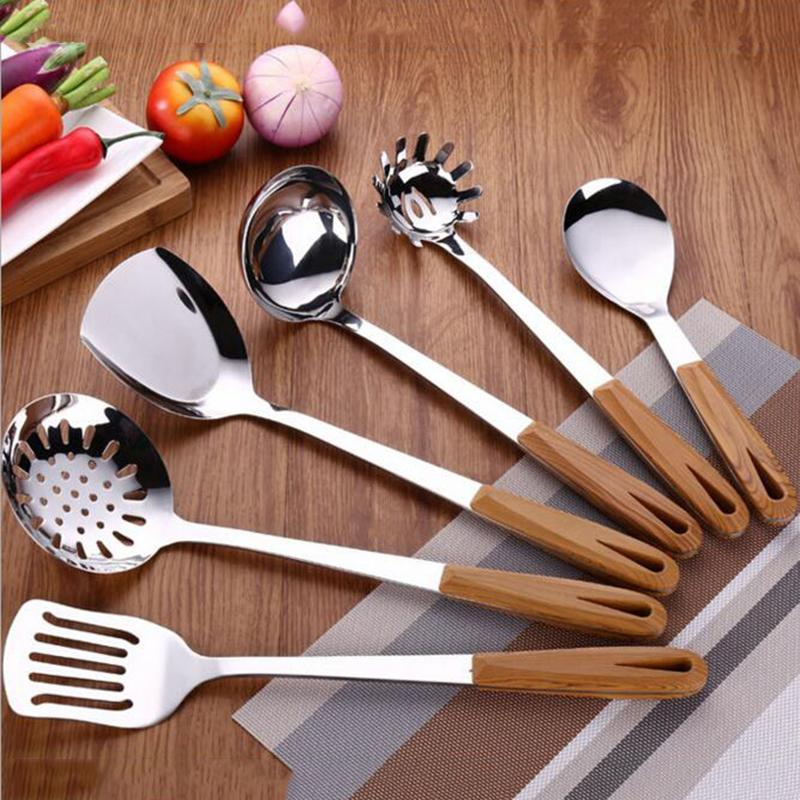 Venta al por mayor utensilios de cocina en madera-Compre online los ...