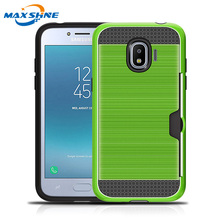 Maxshine 새 shockproof case 대 한 samsung J2 pro case thin hard 보호 cover, ultra thin case 대 한 samsung galaxy J2 pro