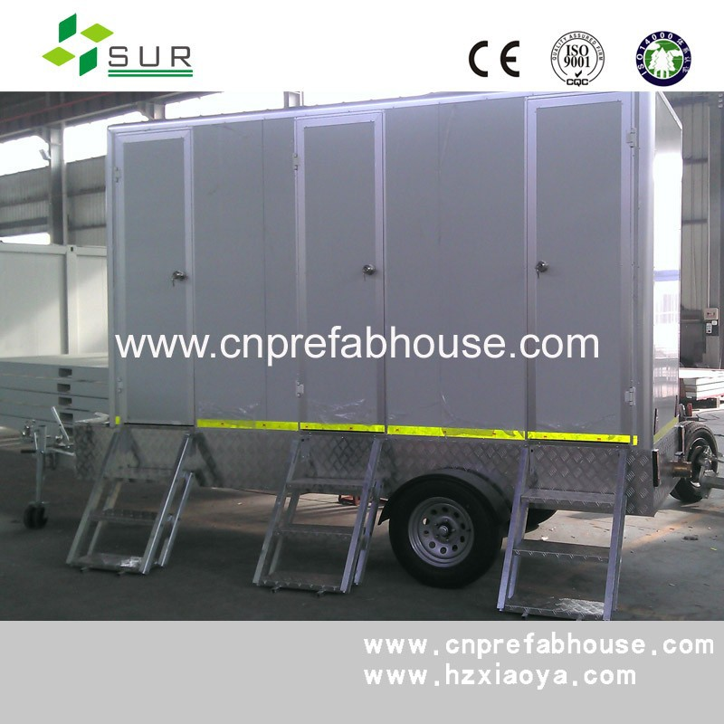 Standard Portable Mobile Toilet Cast Concrete House Site Huts and Guard Huts mobile Executive Mobile Toilet