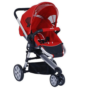 Foldable Baby Stroller/Baby Trolley with Basket