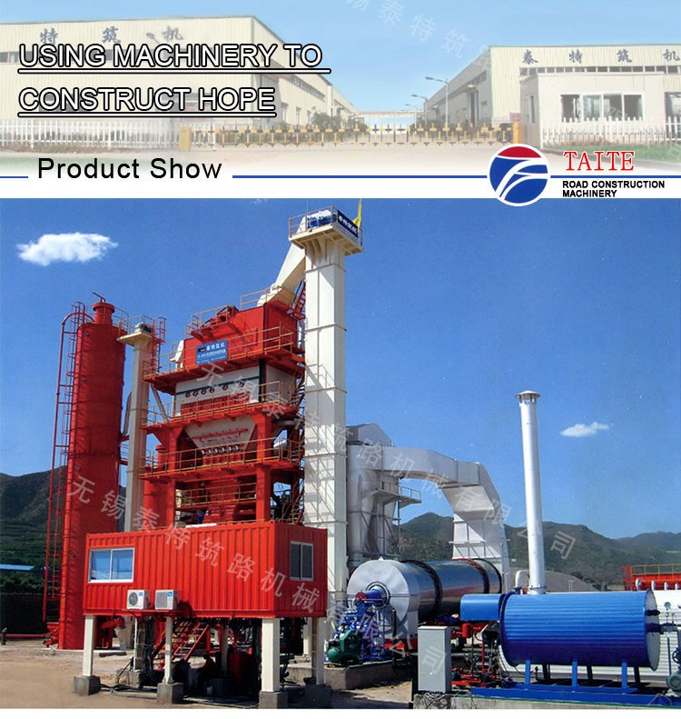 Used Mixing Asphalt Plant Made In China