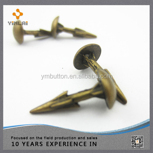 7.5mm*16mm Metal Spike for Shoes Bronze Shoe Studs(SS02)