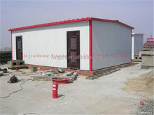 Fireproof sandwich panel house
