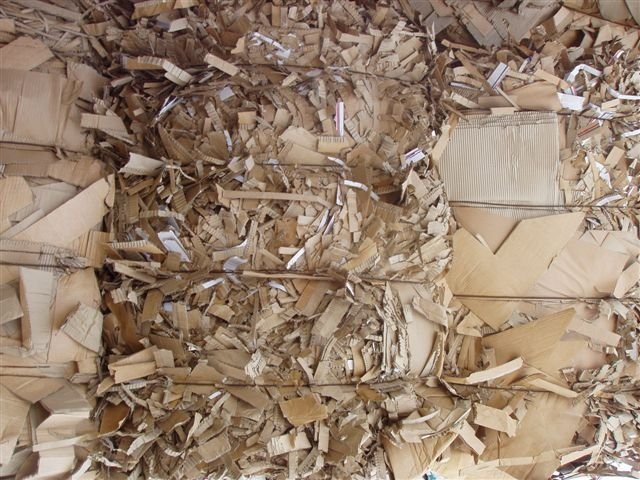 ncc ) New Corrugated Cutting Paper Waste