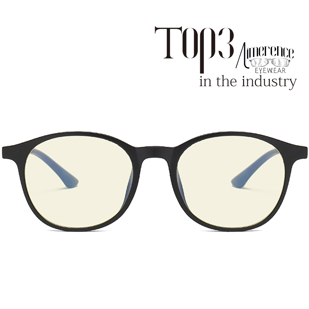 New arrival 2018 TR90 round anti blue light blocking glasses gaming glasses blue light glasses
