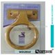 wood bathroom accessory towel ring WDU0010