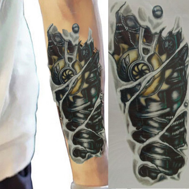Fake Tattoo Body Man 3...