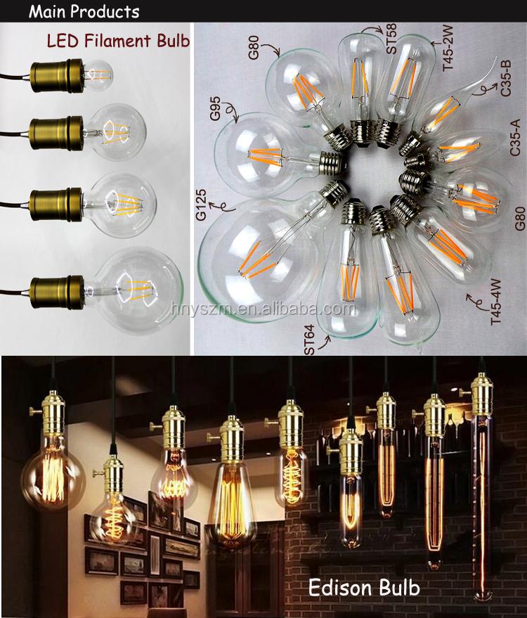 11.11 Global Sourcing Festival E27 E14 B22 Dimmable Filament Led ...