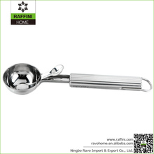 Essential Kitchen Tools Stainless Steel Ice Cream Spoon