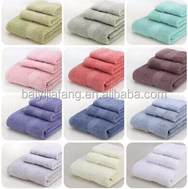 China wholesaler customized top fantastic sets of towels