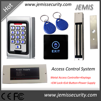 Standalone Rfid Access Control System,Access Controller+em Lock+power  Supply+exit Button+keytag - Buy Rfid Access Control System,Standalone  Access