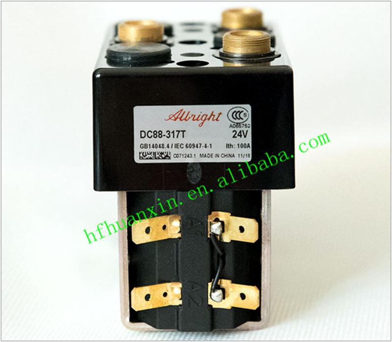 Albright Dc88b 24vdc 100a Reversing Contactor/ Electricity Contactor ...