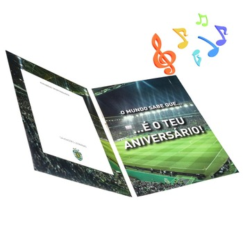 High quality 10sec audio greeting card 20sec custom music card 30sec greeting cards with sound