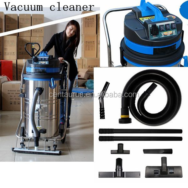 220v 1400w easy operation 80l wet and dry vacuum cleaner with 60L/80L