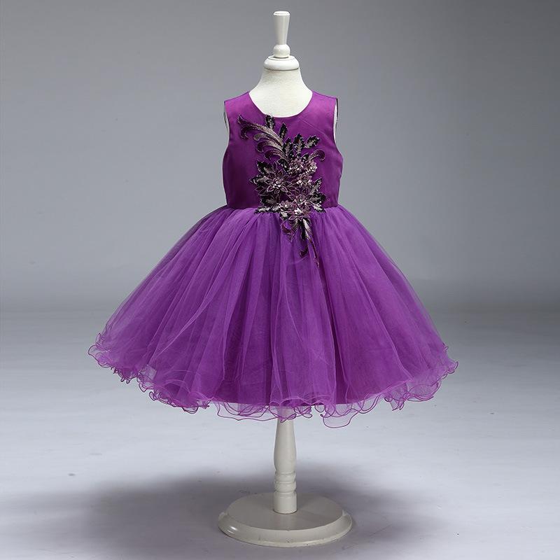Venta al por mayor niñas coreanas modelos vestidos-Compre online los ...