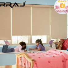 RRAJ Customize Roller shades with LOGO Printing