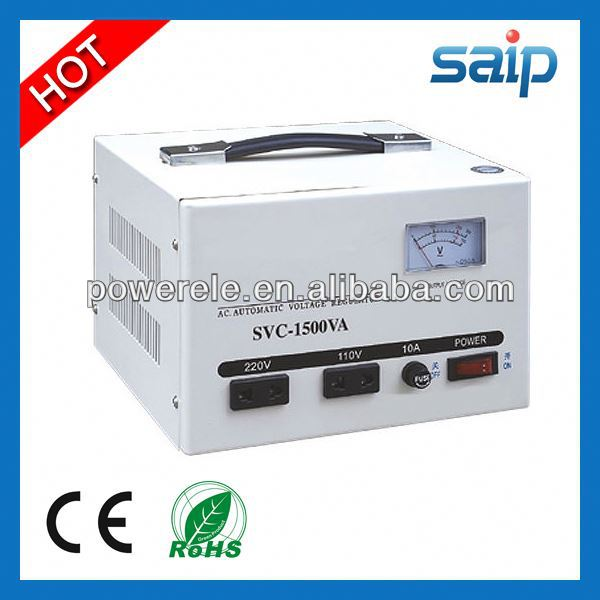 2013 Newest SVC Automatic 30kva 3 phase voltage stabilizer