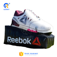 Best selling vivid inflatable shoe replica,good advertising effect inflatable shoe model