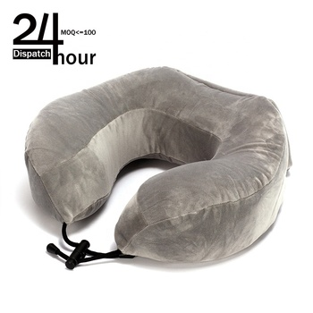 24H Dispatch memory foam u shaped neck travel pillow latex neck pillow