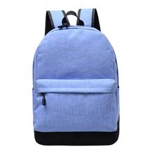 Wholesale New Arrival Unisex Wear Resistant Canvas School Outdoor Activity Travel Camping Large Capacity Backpack for Teenager