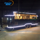 Churros fast food mobile kitchen trailer for sale europe
