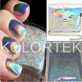 Holographic Mica Rainbow Pigment Manufacturer Nail Powder